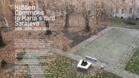Hidden courtyard in Sarajevo neighborhood (Marijin Dvor) nominated for European prize