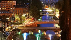 Stroll along the Miljacka and get to know Sarajevo's bridges