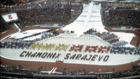 The XIV Winter Olympic Games in Sarajevo