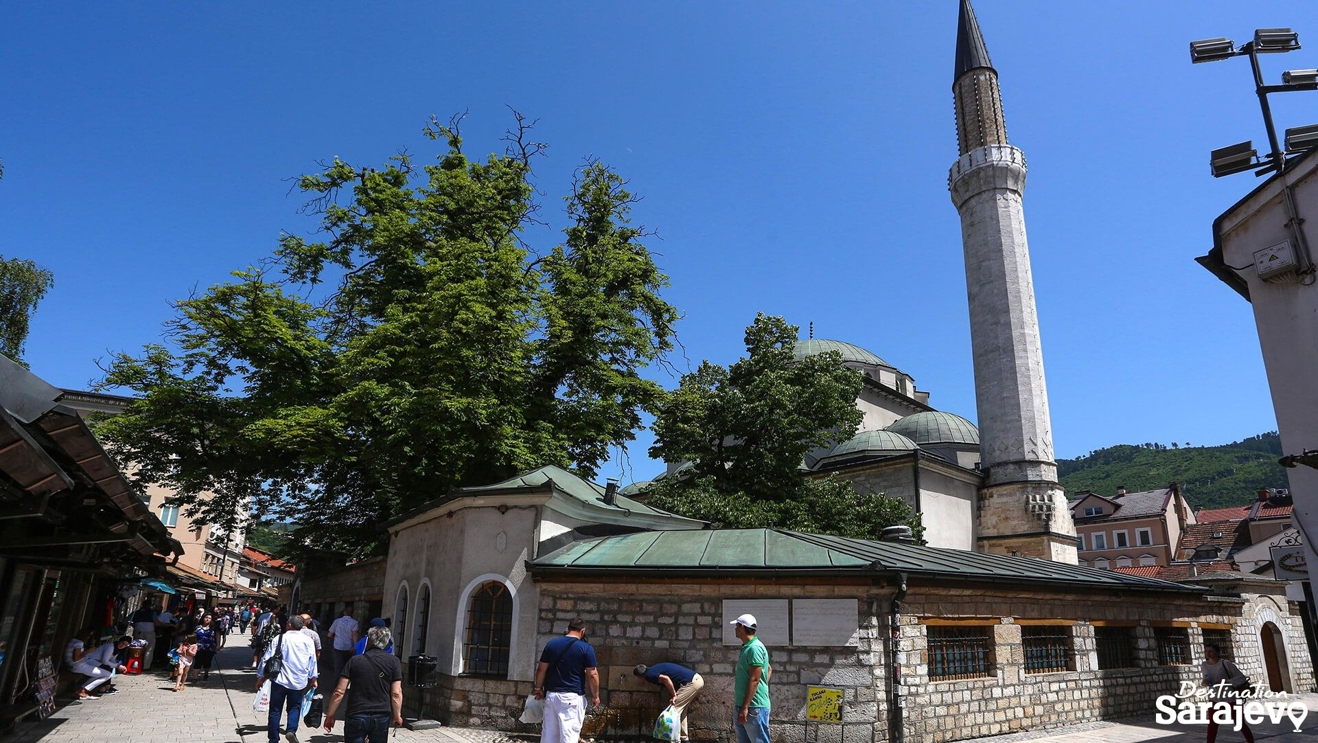 Gazi Husrev-begova džamija - Destination Sarajevo