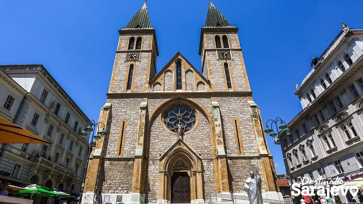 Katedrala Srca Isusova - Destination Sarajevo
