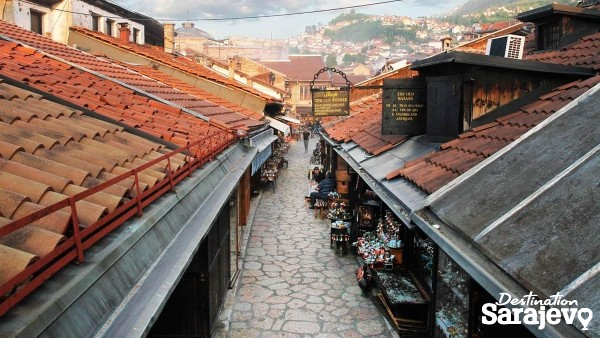 Take a stroll through Sarajevo's streets and squares