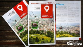 Destination Sarajevo city guide to include Chinese