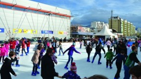 Ice Skating Rink Opened in Dobrinja