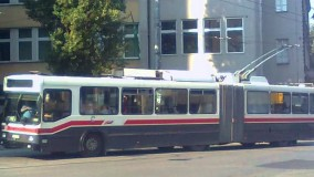 Part of trolleybus transit system closed until May 14