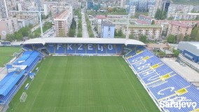 Grbavica Stadium – a symbol of true love!