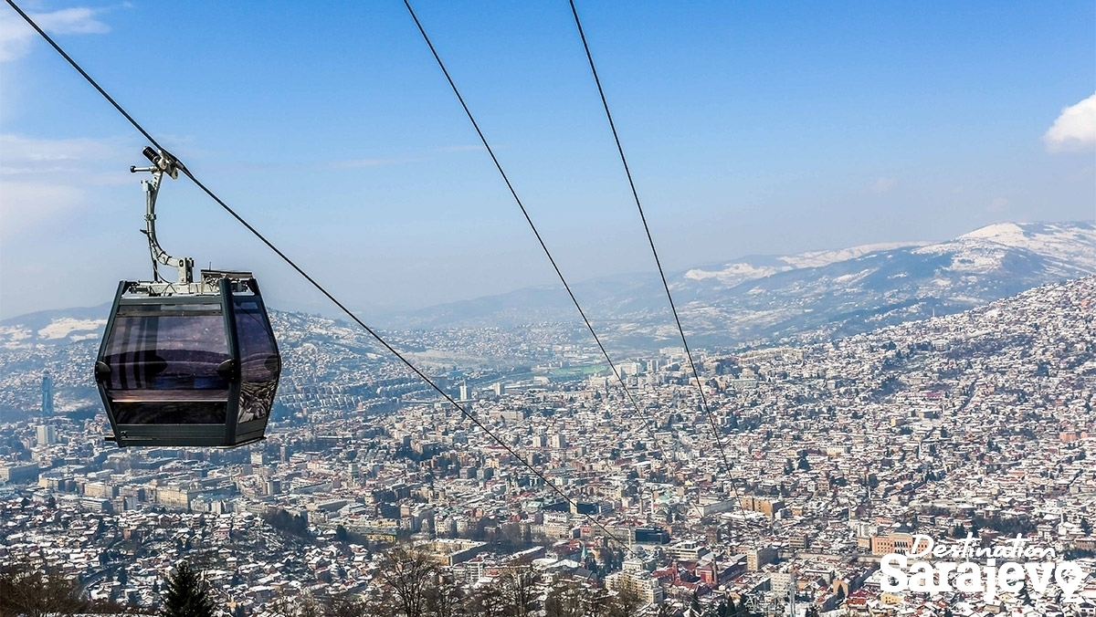 Image result for sarajevo cable car